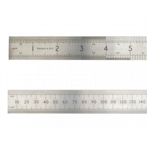 Advent Precision Steel Rule 1000mm / 39in