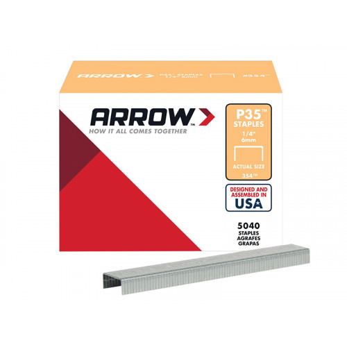 P35 Staples Box 5000 - 6mm - 1/4in