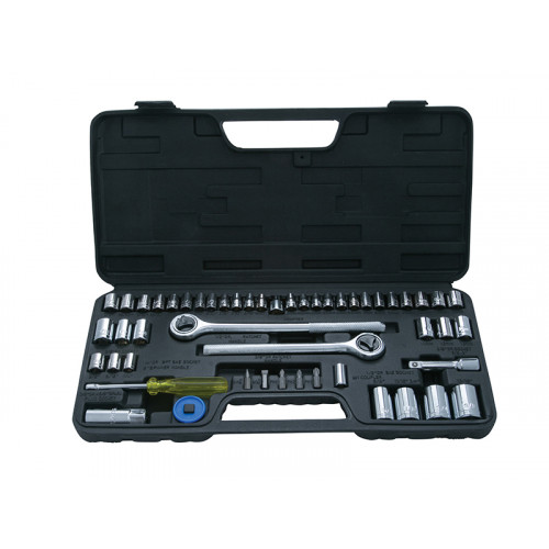 Socket Set 52 Piece 1/4, 3/8 and 1/2 in