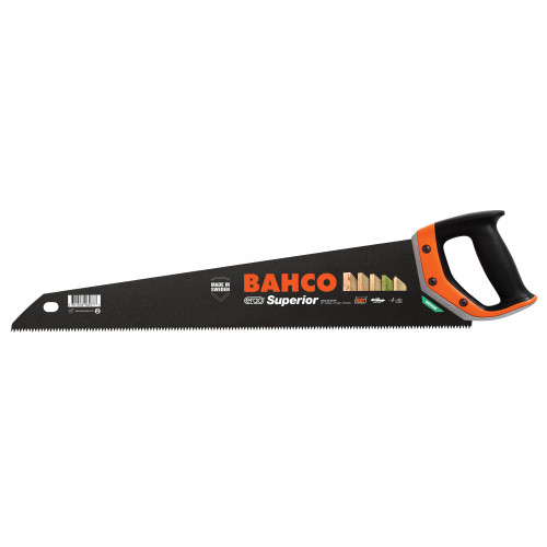 Bahco Superior Handsaw 550mm (22in) 9 TPI