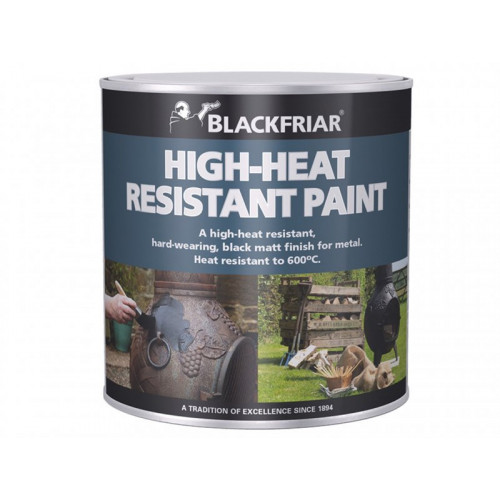 BLACKFRIAR HEAT RESISTANT BLACK 250MLS