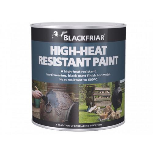 Blackfriar High-Heat Resistant Paint Black 250ml