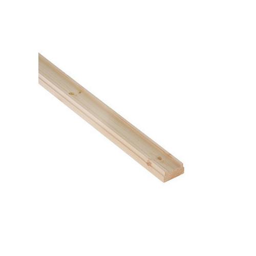Pine Base Rail 2.4m 32mm