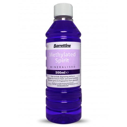 Barretine Mineralised Methylated Spirit 500ml