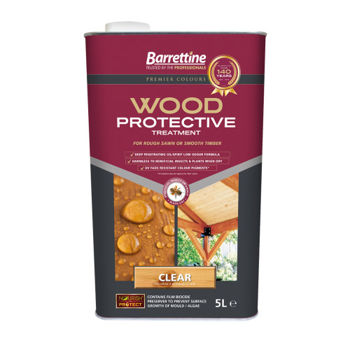 Barretine Wood Protective Clear 5 Litres