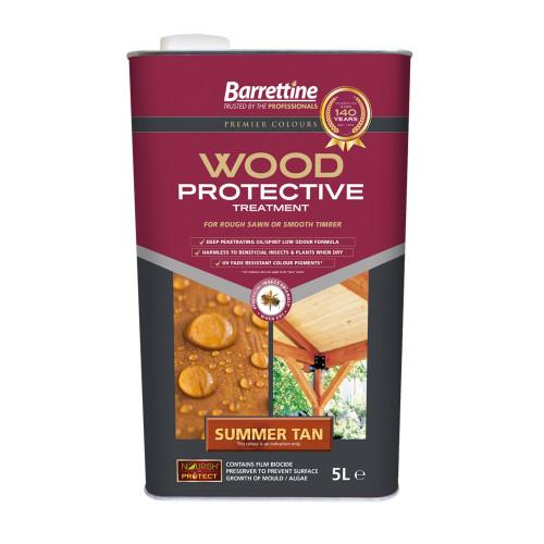 Barretine Wood Protective Summer Tan 5 Litres