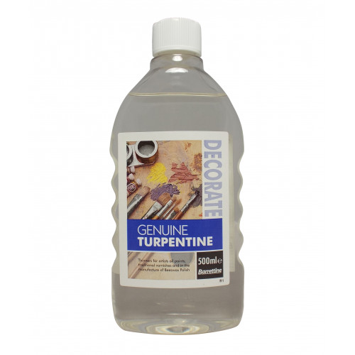 Barrettine Genuine Turpentine 500ml