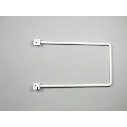 Pr Spring Rod Bookend  White 150mm