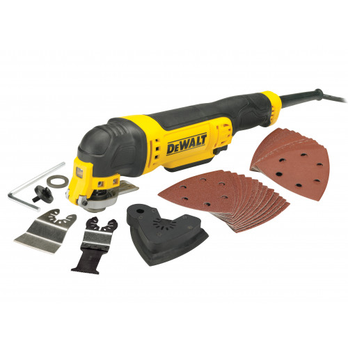 Dewalt Corded Multi-Tool with Bag 300W 240V