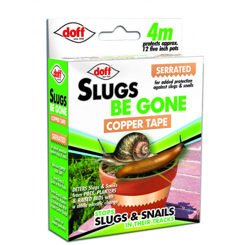 Slug & Snail Adhesive Copper Tape - CDU 4M