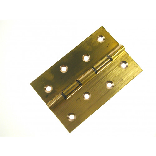 """106P Brass Butt Hinge - DSW 100mmx66mm / 4"""" x 2.5/8"""" PLB (Pair)"""