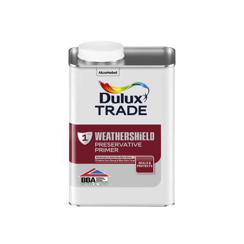 Dulux Trade Weathershield Ext Preserv Primer  1 Litre