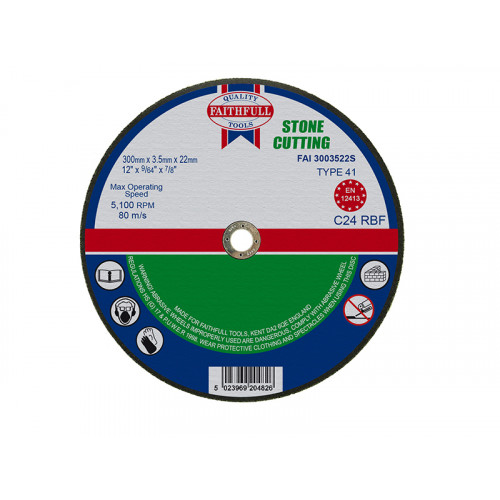 Cut Off Disc for Stone 350 x 3.5 x 25mm