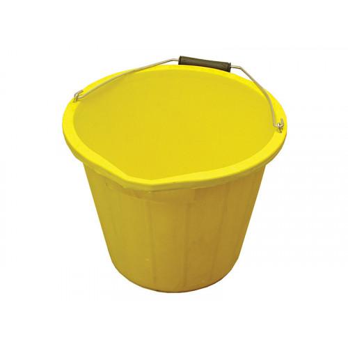 3 Gallon 15 litre Bucket - Yellow