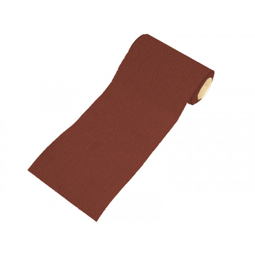 Faithfull Aluminium Oxide Paper Roll Red Heavy-Duty 115 mm x 5m 80G