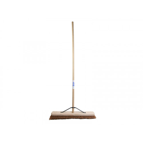 Soft Coco Broom with Stay 600mm (24in)