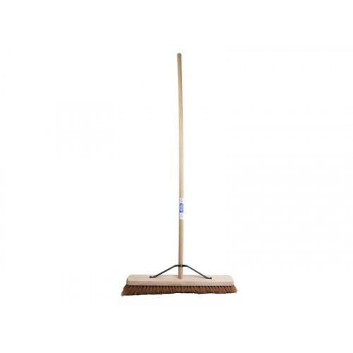 Faithfull Broom Soft Coco 60cm (24 in) + Handle & Stay
