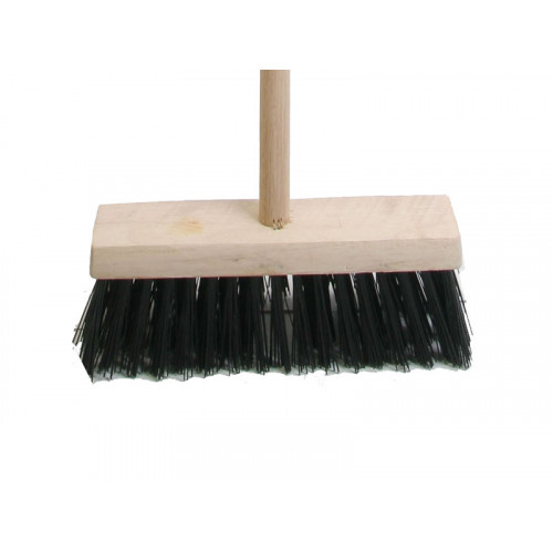 "Faithfull 13"" Poly Broom Complete"