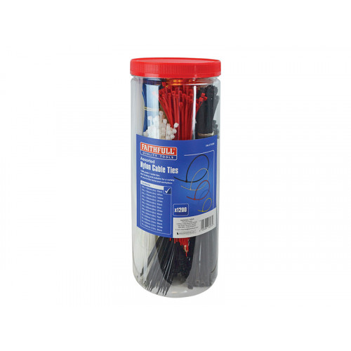 Cable Ties - Barrel Pack of 1200