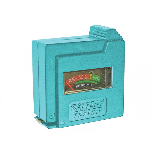 Battery Tester for AA, AAA, C, D and 9V