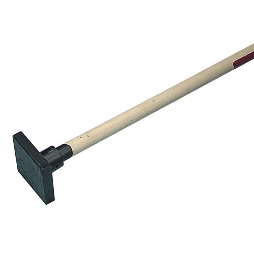Faithfull Earth Rammer 4.5Kg (10Lb) With Wooden Shaft