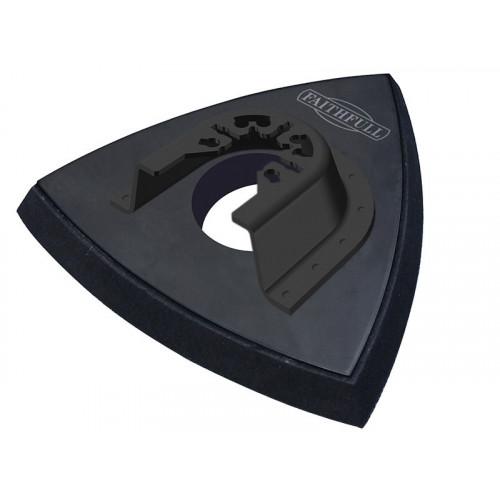 Faithfull Delta Velcro Sanding Pad Triangular 93mm