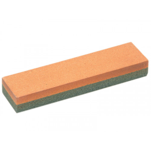 Faithfull Combination Oilstone Aluminium Oxide 100 X 25 X 12.5mm