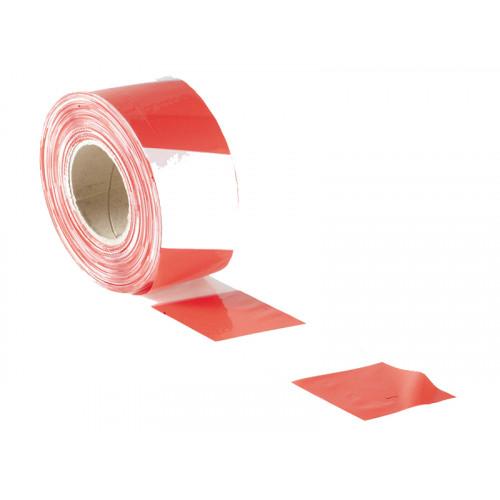 Faithfull Barrier Tape 70mm X 500M Red & White