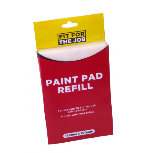 "CLICK SYSTEM PAINT PAD REFILL 6"" x 4"""
