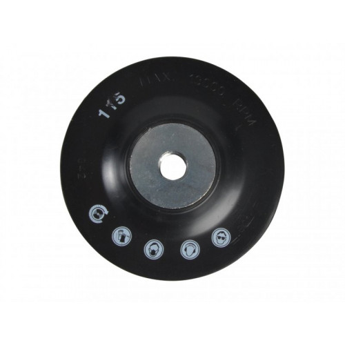 Backing Pad For Fibre & Semi Flexible Discs 115mm x 22