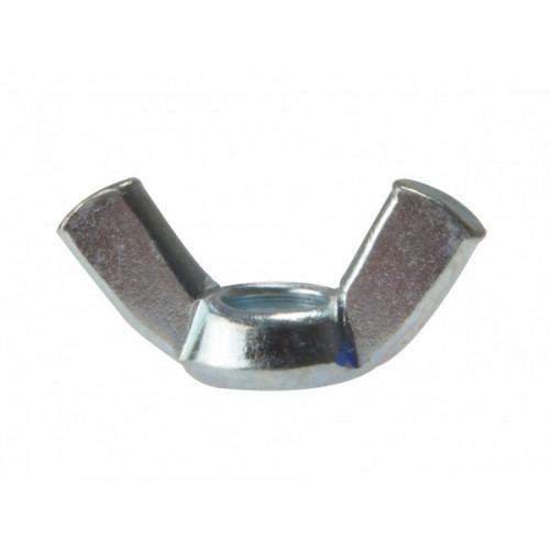 Wing Nut Bright Zinc Plate M10