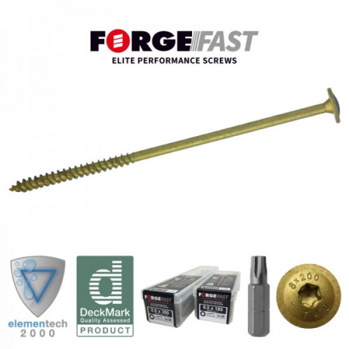 ForgeFast Elite Construction Screws