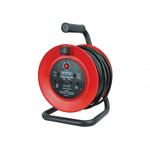Open Drum Cable Reel 240V
