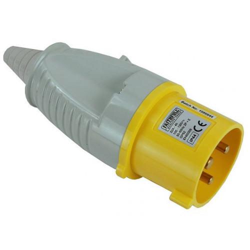 Yellow Plug  32 Amp 110 Volt