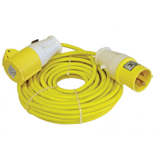 Trailing Lead 110V 16A 1.5mm Cable 14m