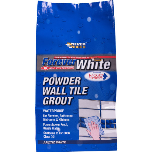 FOREVER WHITE POW WALL TILE GROUT 1.2KG