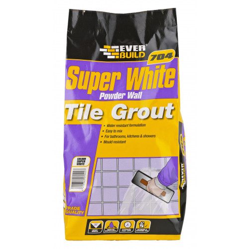 704 POWDER WALL TILE GROUT 3KG