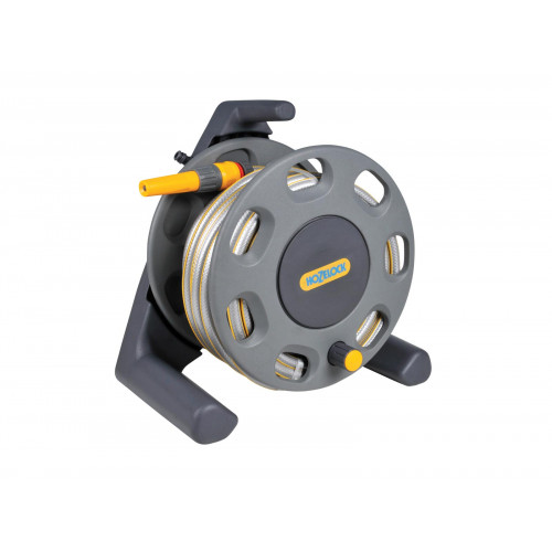 2412 Compact Hose Reel 30m + Multi Purpose Hose 25m