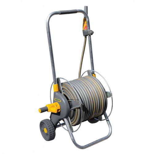 2436 Metal Hose Cart + 30 Metres of Hose + Fittings
