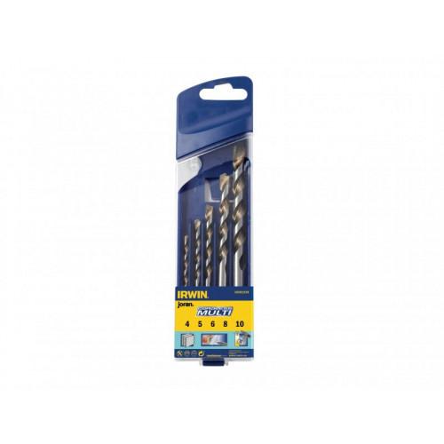 Masonry Drill Bit Set for Cordless Machines 4-10mm