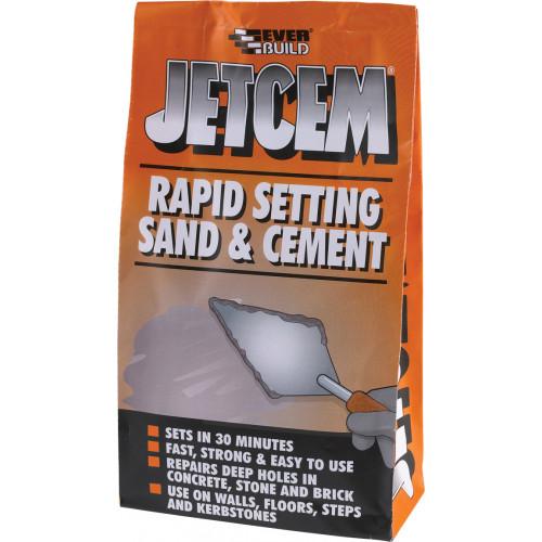 JETCEM PREMIX SAND & CEMENT 6KG