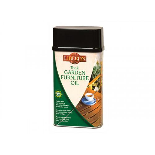 Liberon Garden Furniture Oil Teak 500ml