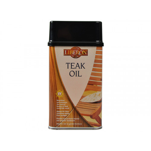 Liberon Teak Oil With UV Filters 500ml