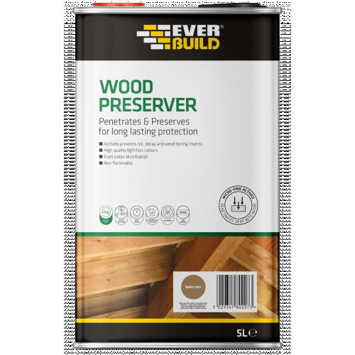 SLATE GREY WOOD PRESERVER 5L