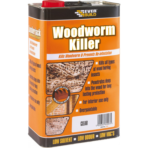 LJACK WOODWORM KILLER 5L