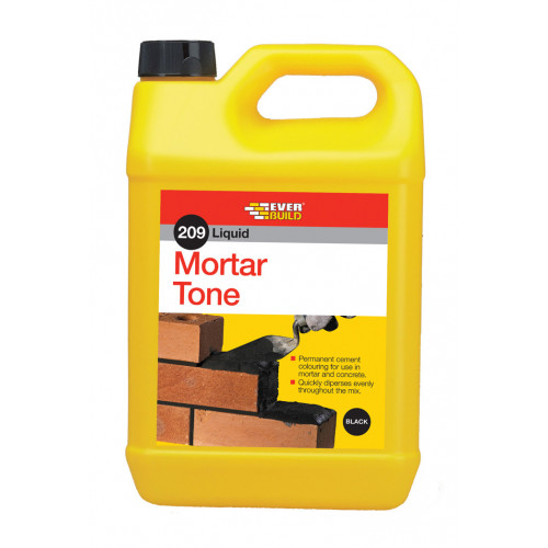 209 LIQ MORTAR TONE BLACK 5L