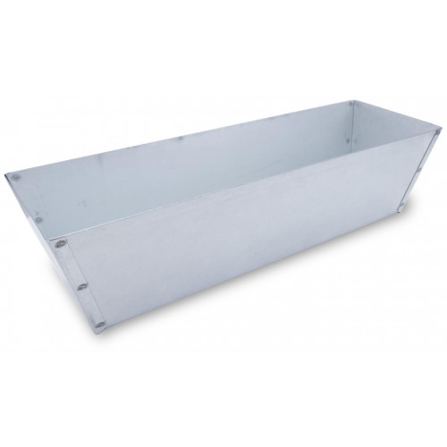 M813 Galvanised Plaster Pan 12in