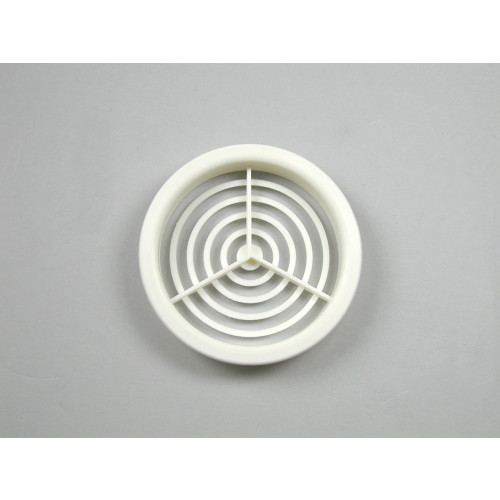ROUND SOFFIT VENT 70mm dia. BOX 50 WHITE