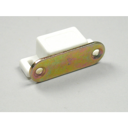 MAGNETIC CATCH - SMALL (3KG) WHITE
