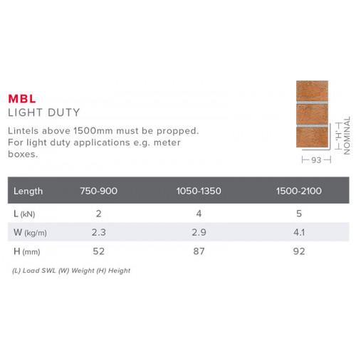 Lintel MBL 1050mm